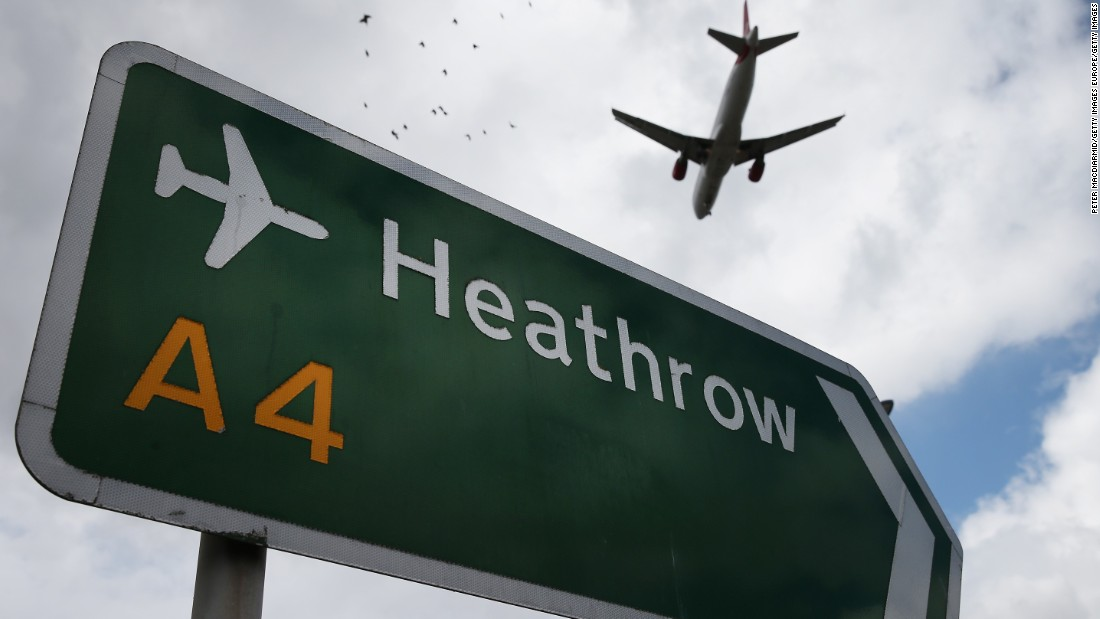 <strong>9. London Heathrow Airport --</strong> Europe's busiest airport, Heathrow came in at No. 9 on this year's list.