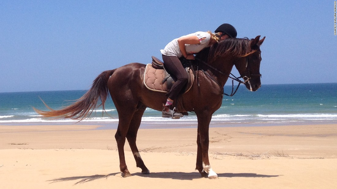 Requiring less commitment, there's plenty of options if you want to have a ride along Essaouira's main beach.
