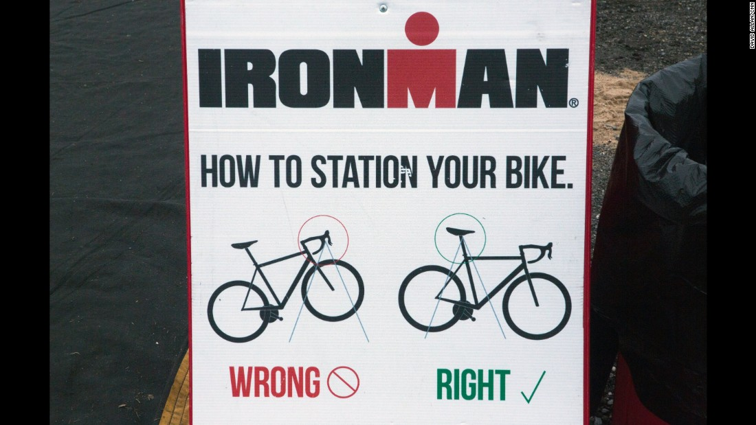 "A ""full"" or Ironman-length triathlon is a 2.4-mile swim, a 112-mile ride and a 26.2-mile run."