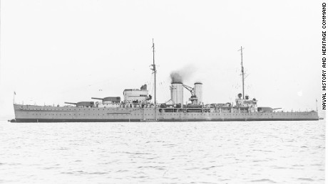 HMS EXETER (British Cruiser, 1929)