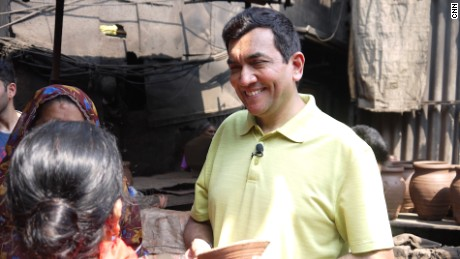 Indian celebrity chef Sanjeev Kapoor.