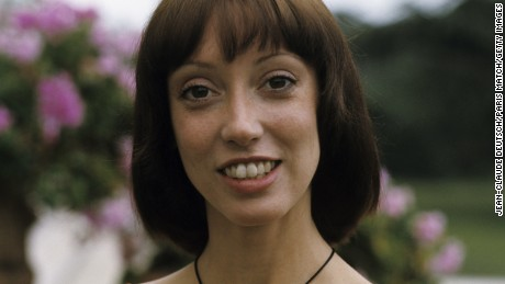 "Shelley Duvall, here at the Cannes Film Festival in 1977, starred in such hit films as ""The Shining."""