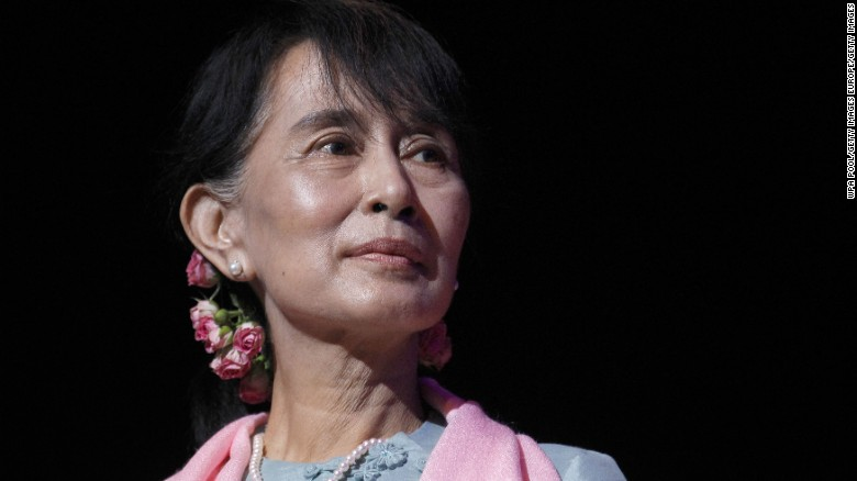 Myanmar leader denies ethnic cleansing