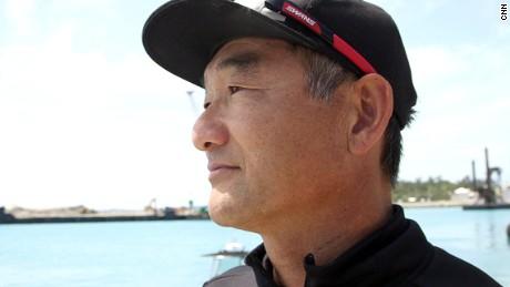 Softbank Team Japan's general manager and bowman Kazuhiko Sofuku