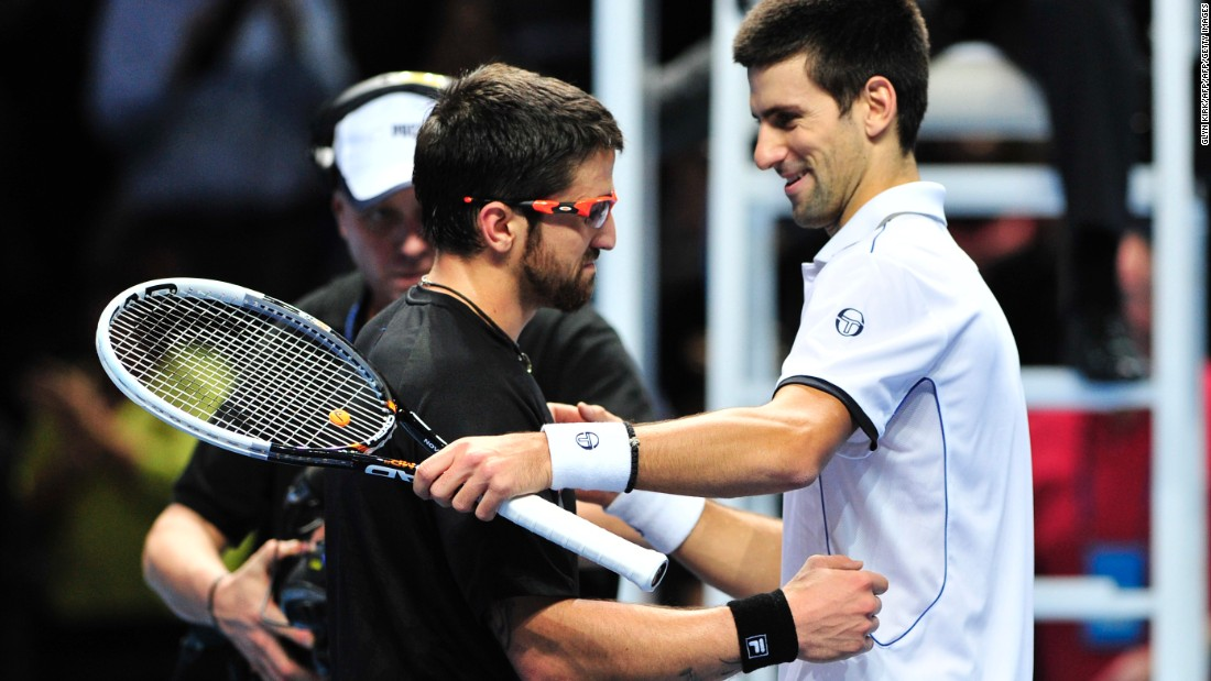 An alternate hasn't won a match at the ATP Finals since Janjo Tipsarevic in 2011. The man he defeated that day? Novak Djokovic.