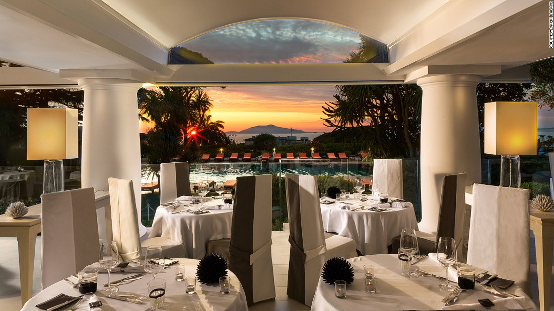 """<strong>General Manager Alain Bachmann loves... Capri Palace, Italy -- </strong>Chedi Club Tanah Gajah's General Manager Alain Bachman loved his visit to Italy's Capri Palace because of the """"flawless, very personable service, a great, spacious room and exceptional food."""""""