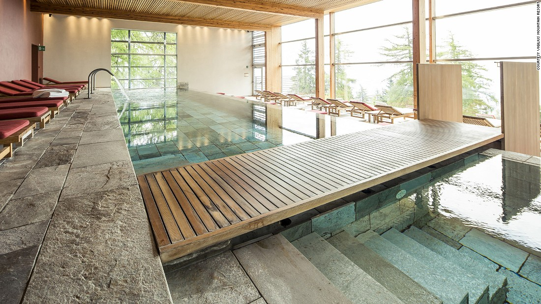 "<strong>World's Best Sustainable Hotel 2016: Vigilius Mountain Resort, Italy -- </strong>The Boutique Hotel Award judges call Vigilius Mountain Resort in South Tyrol ""a masterpiece in eco-luxury."" Amenities include an indoor pool, outdoor thermal pool, sauna and steam room."