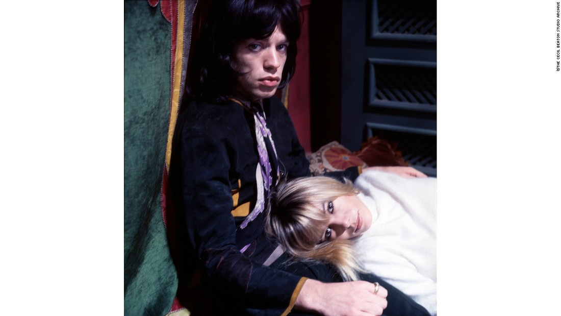 Anita Pallenberg was dating Rolling Stone Keith Richards at the time of filming.