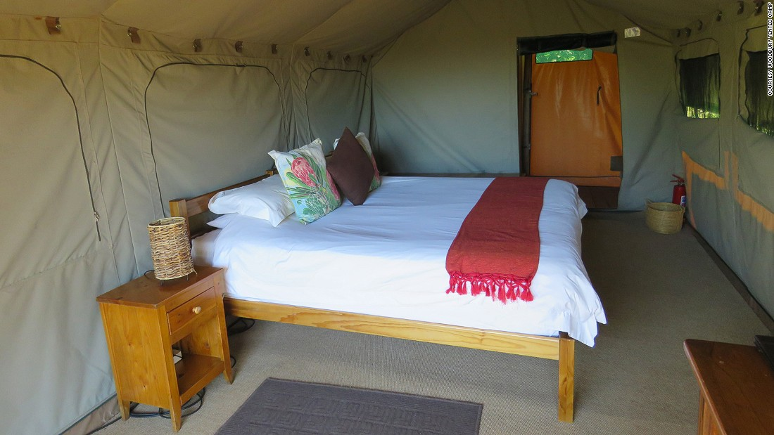 "<strong>Vigilius' head of marketing loves... Woodbury Tented Camp, Amakhala Game Reserve -- </strong>Says Vigilius' Gertrud Grassl, ""At Woodbury Tented Camp, clients have the opportunity to live an authentic personalized African safari directly in contact with nature. The structure consists of eight large comfortable en-suite tents all on raised bases, each with their own private patios."""