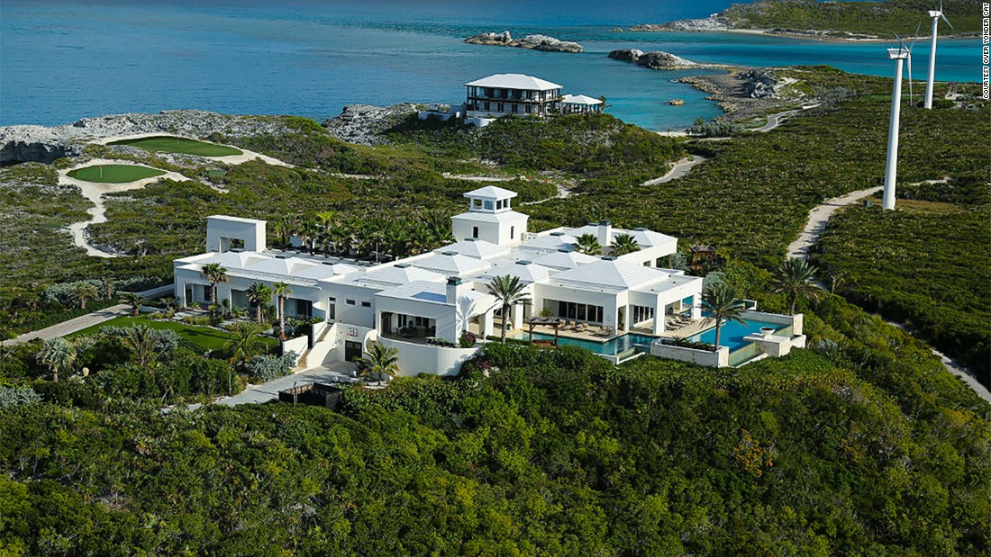 <strong>World's Best Private Villa 2016: Over Yonder Cay, Bahamas -- </strong>Over Yonder Cay is a private island in the Bahamas featuring four unique villas. The island is powered by renewable energy.