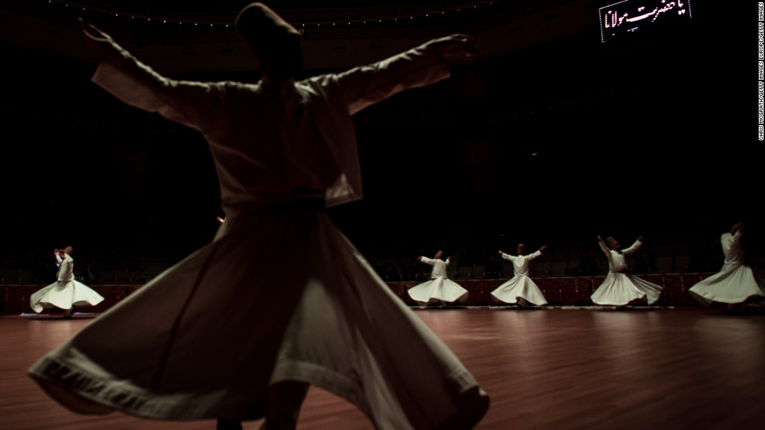 "The most sought after performance occurs on December 17 each year during the Mevlana Festival, the date of Rumi's death -- or his ""wedding night"" reunion with God."