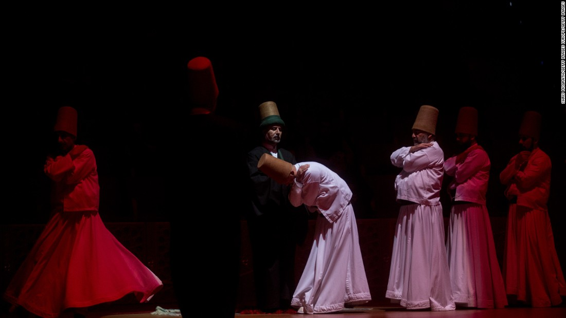 The dance is modeled on Rumi's ecstatic rituals as he composed poetry. Dervishes enter a trance-like state during the performance. The dance is now recognized as intangible heritage by UNESCO.