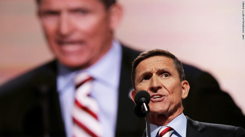 Flynn's views a departure from US policy