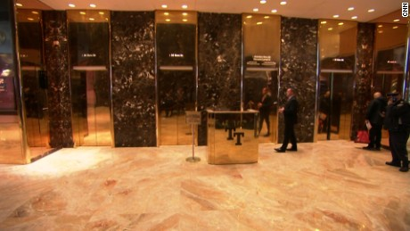 Trump Tower elevators