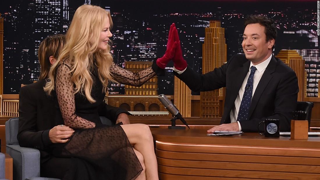 Nicole Kidman's Second Awkward Jimmy Fallon Interview