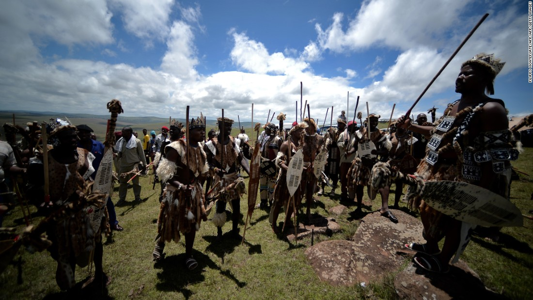 "A feature of marital affairs for many Bantu-speaking tribes in South Africa, Zimbabwe and Swaziland, <em>lobola</em> is practiced by, among others,  Zulus (pictured). <em>Lobola</em> is also referred to as ""bridalwealth"", with the prospective groom's family negotiating with the bride's for her hand in marriage. The dowry comes in many forms, including money, but some choose cattle. There were <a href=""http://articles.latimes.com/1998/jul/19/news/mn-5280"" target=""_blank"">reports in 1998</a> that Nelson Mandela (of Thembu lineage) paid the marital <em>lobola</em> of 60 cows to the family of new wife Graca Machel.<br /><br />""It's the cause of much conflict,"" says Lewis, ""because in order for a man to get married he must provide often quite a substantial head of cattle, and so he's in indentured labor to his father until the herd he's caring for is big enough."" In societies that are cattle based, men tend to marry in their mid-forties, he adds, explaining that ""there's always a backlog of women who are available but unable to marry"" because men of a similar age have not yet raised the required bridalwealth."