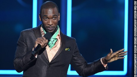 Comedian Jay Pharoah hosts The Players' Awards presented by BET at the Rio Hotel & Casino on July 19, 2015 in Las Vegas, Nevada.  (Photo by Ethan Miller/BET/Getty Images for BET)