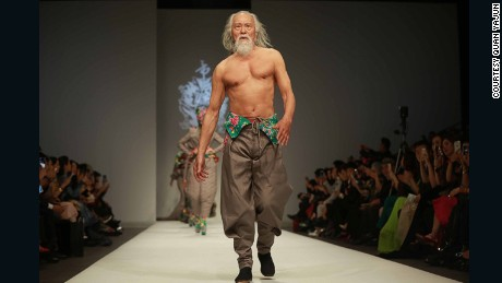 Age no barrier to 'China's hottest grandpa'