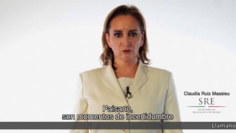cnnee vo cafe canciller mexico anuncioa migrantes _00002719