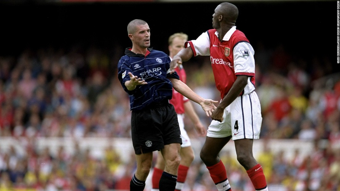 "Over the years, the clashes between club captains Patrick Vieira and Roy Keane became synonymous with the fixture. The standout confrontation, however, came in the tunnel at Highbury in 2005, with Keane accusing Vieira of picking on ""weak link"" Gary Neville."