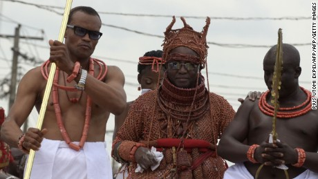 Crowning the Oba of Benin Kingdom: tradition 700 years old