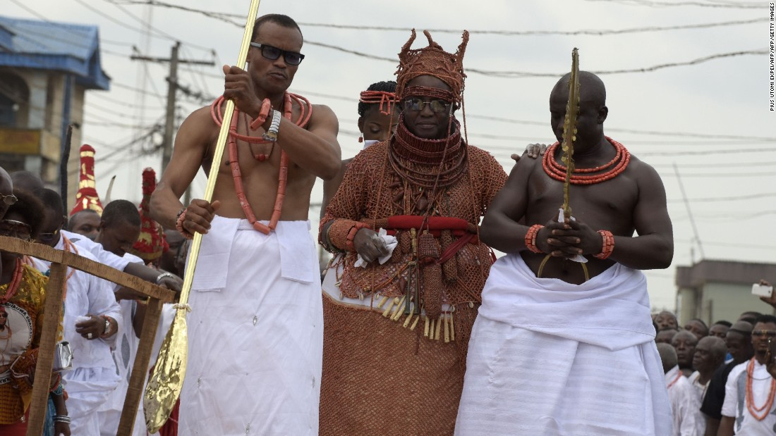 The coronation of a new Oba in the Benin Kingdom begins several months before the final coronation event takes place.