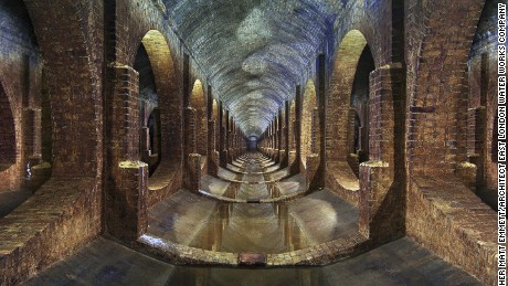 Photographer: Matt Emmett Contact: 07954 423616 Paypal ref and Email: matt_emmett@yahoo.co.uk Building Type: Covered Reservoir Location: Beneath Finsbury Park, London Architects: East London Water Works Company Built: 1868 Taken: October 14th 2014
