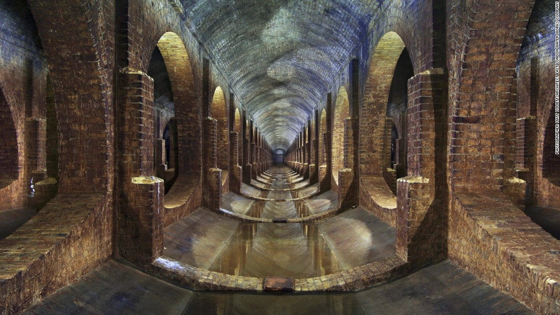 "Winner of the 2016 <a href=""http://www.arcaidawards.com/"" target=""_blank"">Arcaid Images Architectural Photography award</a>, this picture of an old reservoir in Finsbury Park, London -- called 'Underground Reservoir' -- was taken by British photographer and urban explorer <a href=""http://www.forgottenheritage.co.uk/"" target=""_blank"">Matt Emmett</a>. The East London Water Works Company built the reservoir in 1868 and it is the first time a photograph of an historic site has won the photography competition."
