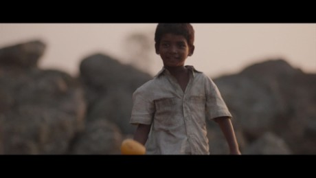 Sunny Pawar stars as a young boy who gets adopted in the new film 'Lion.'