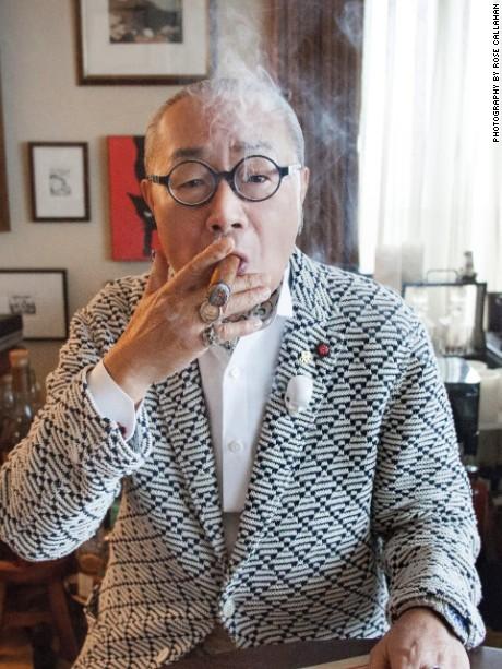 Katsuhiro Shimaji photographed in Tokyo (home, Isetan store & bar) on April 7, 2016
