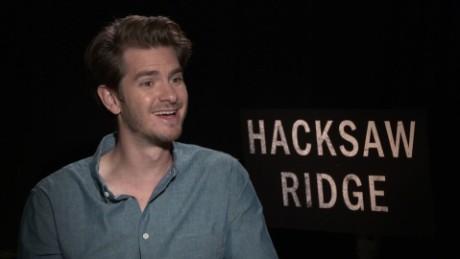 Andrew Garfield on 'Hacksaw Ridge' heroics - CNN Video  Andrew Garfield