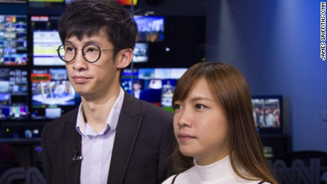 "Sixtus ""Baggio"" Leung and Yau Wai-ching speak to CNN."