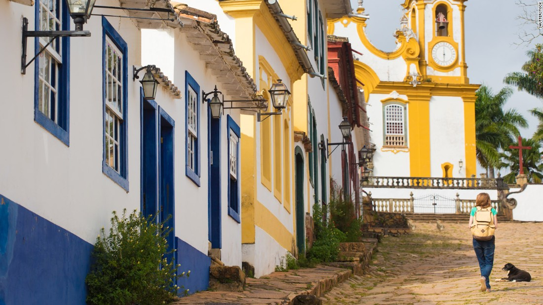 The colonial village of Tiradentes is a foodie haven with six starred restaurants -- the highest per capita in Brazil -- according to Guia4Rodas, Brazil's most respected culinary bible.