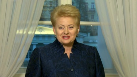 exp  GPS LITHUANIAN PRESIDENT GRYBAUSKAITE on Russia_00000901