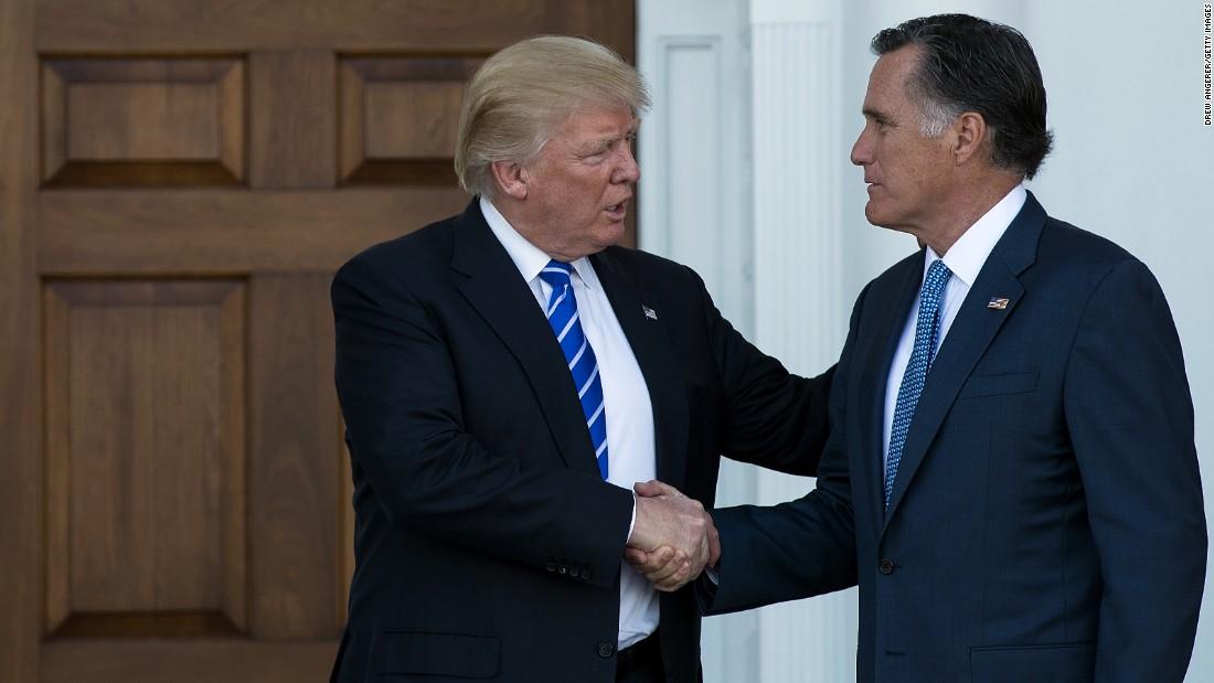 Mitt Romney to Trump: 'Apologize'