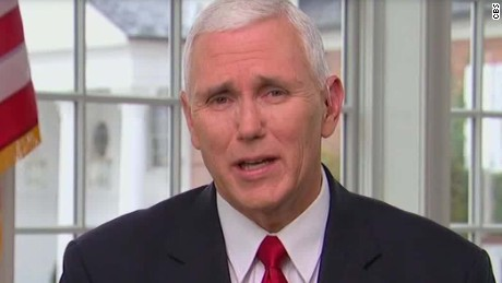 Pence: 'I wasn't offended' by 'Hamilton' cast