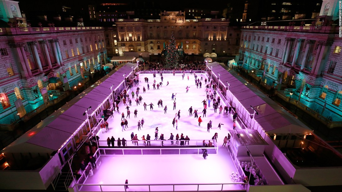 One of London's most popular winter attractions Skate with Fortnum & Mason opens at Somerset House. <br />