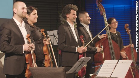 The Syrian Expat Philharmonic Orchestra
