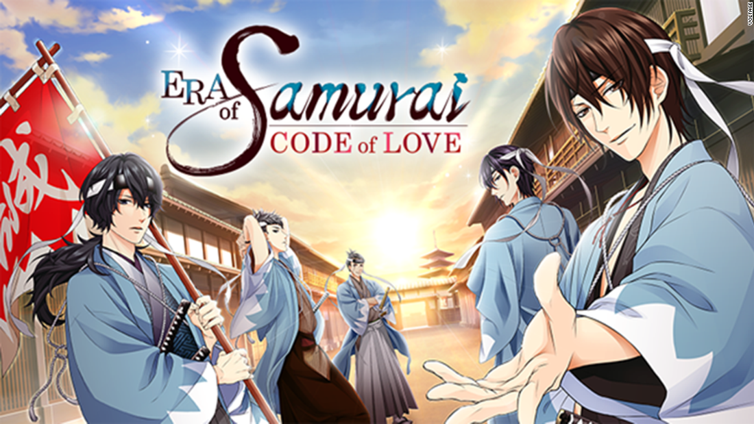 "Voltage's romance game ""Era of Samurai Code of Love"" takes players back to the world of Shinsengumi warriors, where a slew of swordsmen vie to steal their heart."