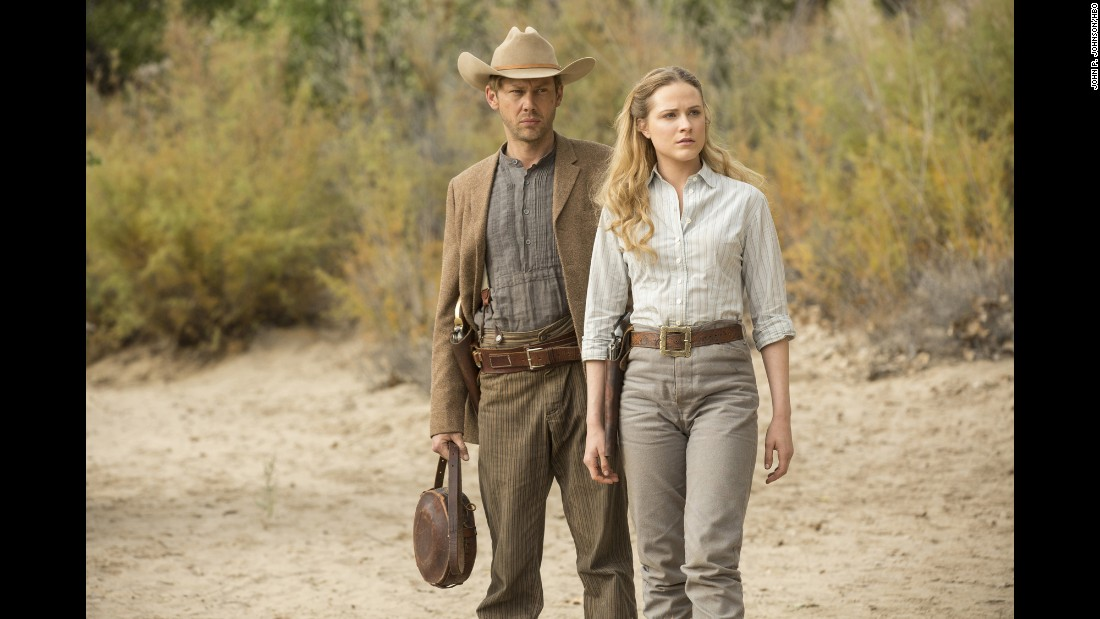 "If you aren't watching <strong>""Westworld"" </strong>on HBO, you are missing out on all the fan theories! <br />Jimmi Simpson and  Evan Rachel Wood star in the series about a futuristic theme park. Head over to HBO Now to check it out if you don't have cable."