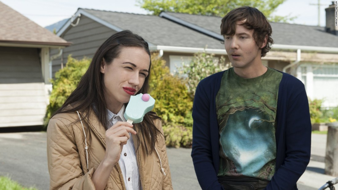 "Colleen Ballinger plays the role of aspiring star Miranda Sings and Erik Stocklin is her adoring neighbor Patrick in <strong>""Haters Back Off!""</strong> The Netflix series is quirky, but fans who dig it, really dig it."