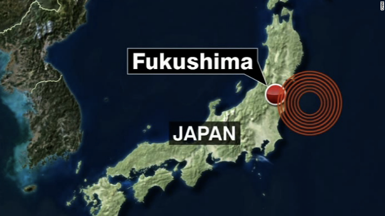 Tsunami warning after earthquake in Japan
