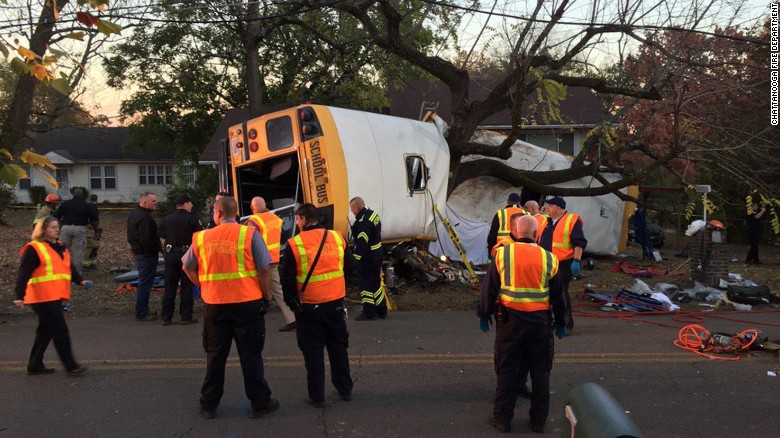 Chattanoga school bus accident
