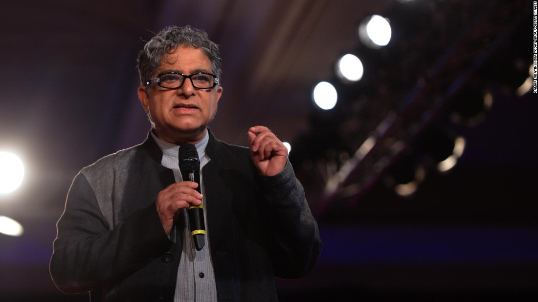Deepak Chopra is a certified physician, leading figure in alternative medicine and author of more than 50 books. His central message claims that a connection between the mind and body can be used to reach an ideal state of health.