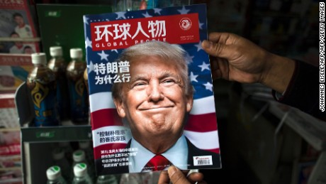 Donald Trump faces backlash from China