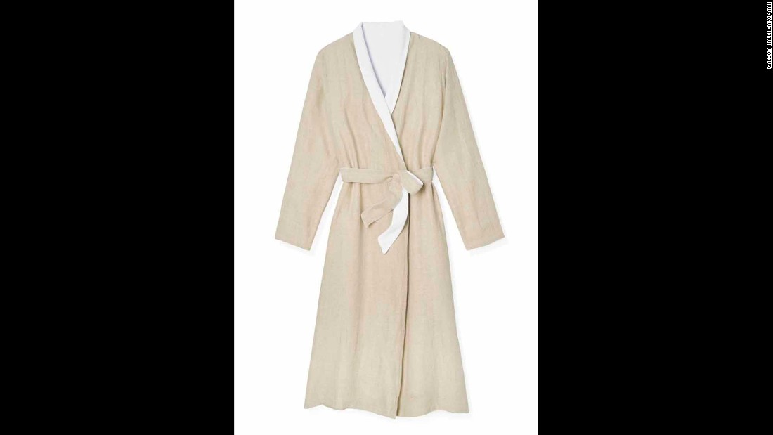 "The gift of comfort is always the way to go. Oprah swears by this Coyuchi Linen Terry Robe. It's perfect for lounging around your home to Netflix and chill. <a href=""http://www.oprah.com/gift/Oprahs-Favorite-Things-2016-Full-List-Coyuchi-Linen-Terry-Robe?editors_pick_id=65969"" target=""_blank"">Originally $198, now 20 percent off with code OPRAH</a>"