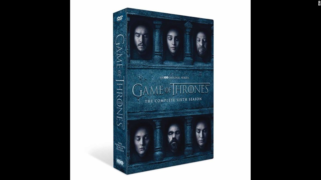 "For any ""Game of Thrones"" fan this is the perfect holiday gift. It's only $45.99, <a href=""http://store.hbo.com/game-of-thrones-the-complete-sixth-season-dvd/detail.php?p=1043398&v=black-friday-dvds"" target=""_blank"">click here to buy.</a>"