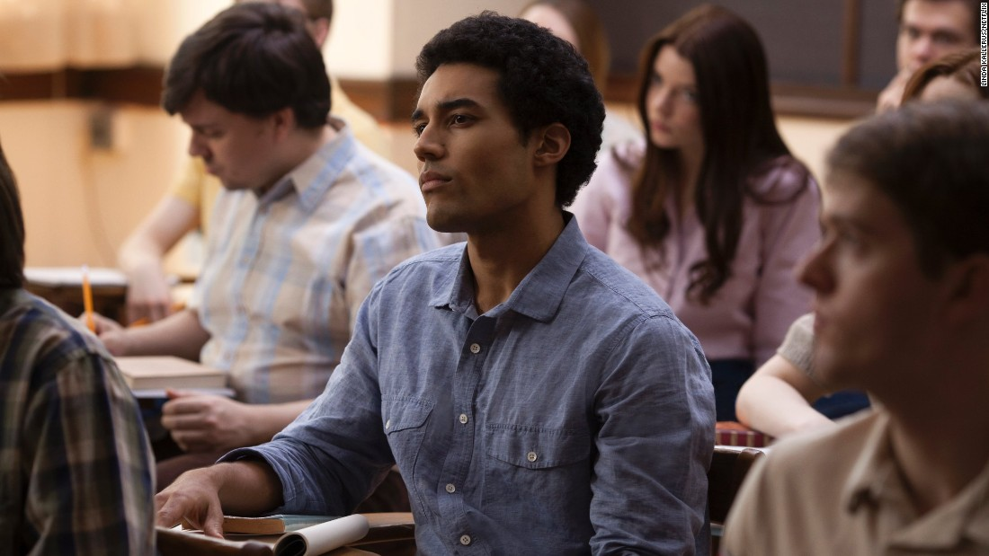 "<strong>""Barry""</strong> : Devon Terrell stars as a young Barack Obama in this story of his life in New York City as a college student. <strong>(Netflix) </strong>"