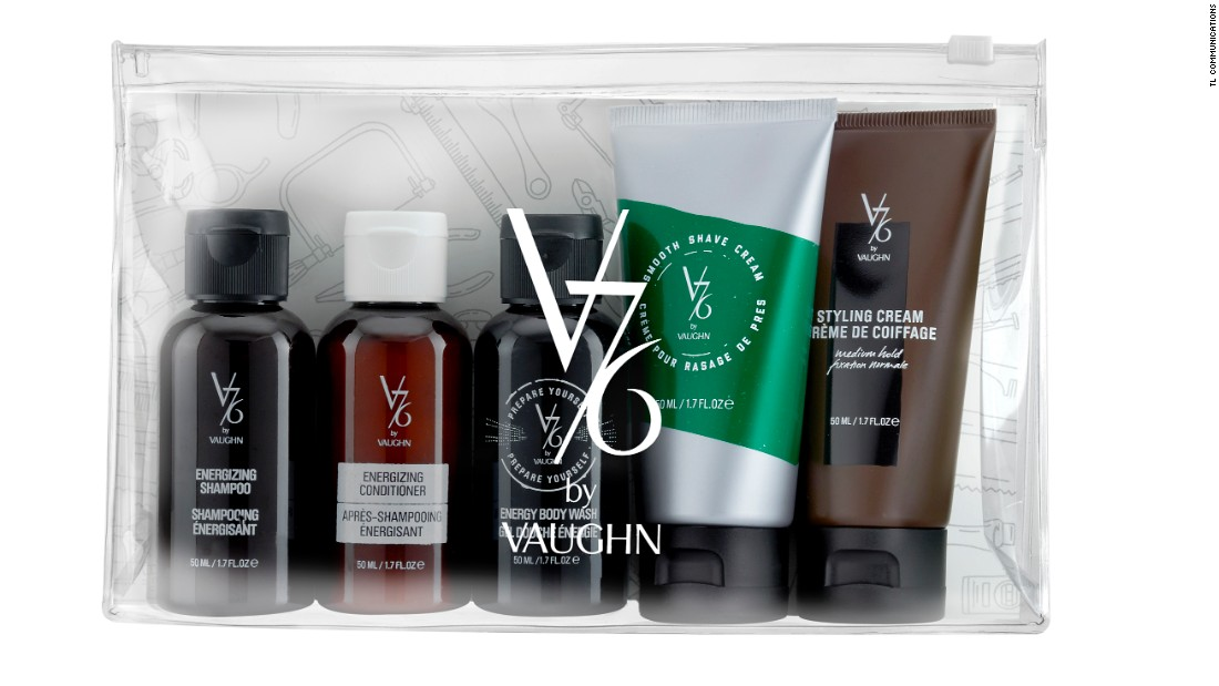 "Celebrate the Well-Groomed man in your life with V76 by Vaughn must-have travel classics. <a href=""http://www.v76.com/well-groomed-travel-kit.html"" target=""_blank"">$37, click here to shop. </a>"