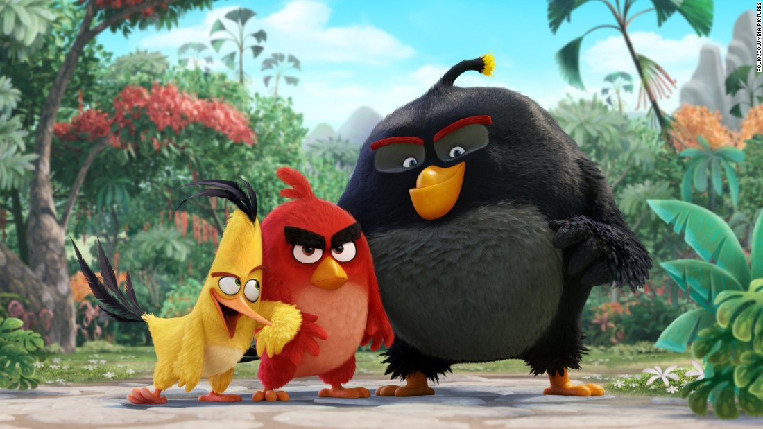 "<strong>""The Angry Birds Movie"": </strong>Jason Sudeikis, Danny McBride, and Josh Gad voice characters in this animated film based on the popular game. <strong>(Netflix) </strong>"